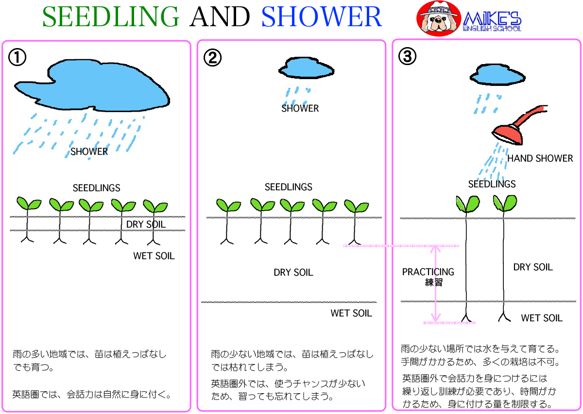 Seedling and Shower
